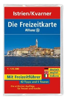 9783829717717: Freizeitkarte Allianz Istrien/Kvarner Bucht 1 : 125 000