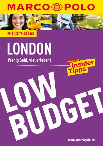 9783829718066: Marco Polo Low Budget London