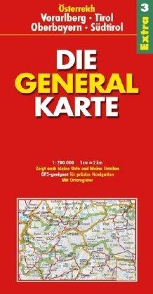 Generalkarte Österreich Extra 3. 1: 200 000 (3829720599) by Rankin, Ian