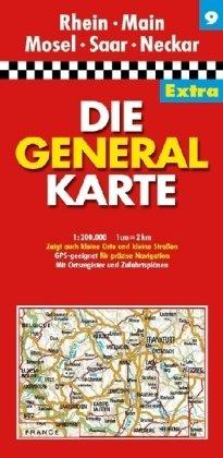 9783829721349: DGK 9 Rhein / Main / Mosel / Saar / Heckar