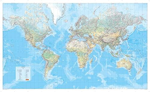 9783829721615 Die Groaÿe Weltkarte 1 30 000 000 Poster Karte