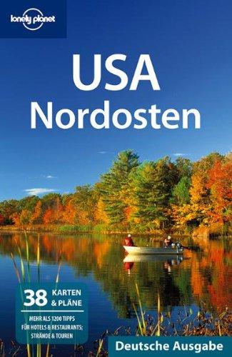 USA Nordosten: zahlreiche farbige Abbildungen und Karten-Skizzen - Benson, Sara