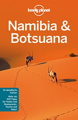 9783829723268: Lonely Planet Reisef�hrer Namibia, Botsuana