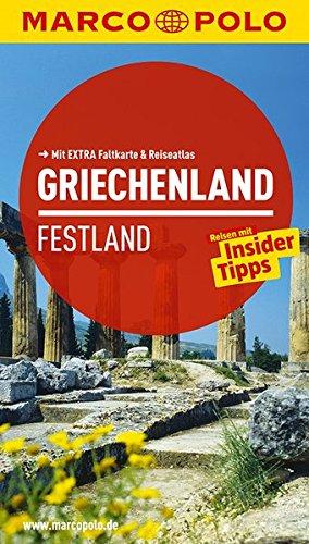 9783829724685: MARCO POLO Reiseführer Griechenland, Festland