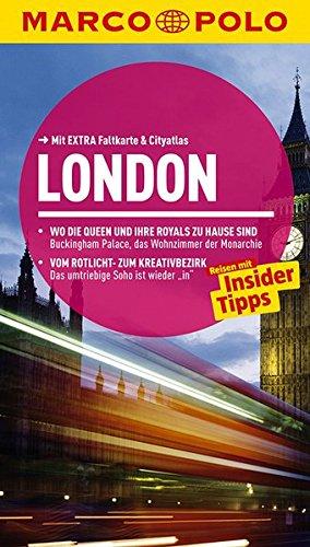 9783829725293: MARCO POLO Reiseführer London: Reisen mit Insider-Tipps. Mit EXTRA Faltkarte & Cityatlas