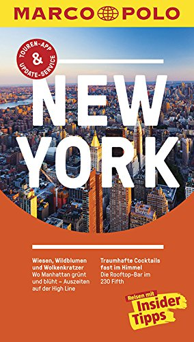 9783829728478: MARCO POLO Reisef�hrer New York: Reisen mit Insider-Tipps. Inklusive kostenloser Touren-App & Update-Service