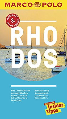 9783829728782: MARCO POLO Reiseführer Rhodos: Reisen mit Insider-Tipps. Inkl. kostenloser Touren-App und Event&News