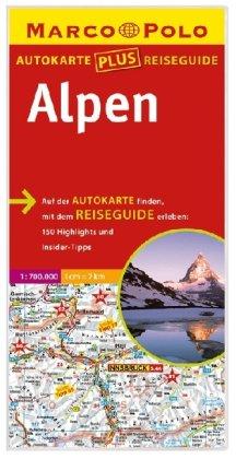 9783829730112: Alpen 1 : 700 000
