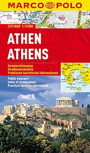 9783829730433: MARCO POLO Cityplan Athen 1 : 15.000