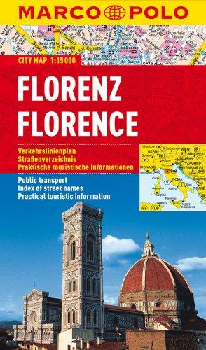 9783829730518: MARCO POLO Cityplan Florenz 1 : 15.000