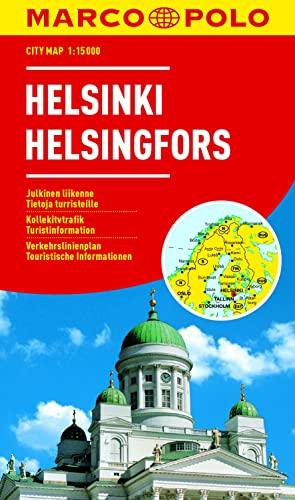 9783829730532: MARCO POLO Cityplan Helsinki 1 : 15 000