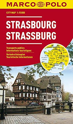 9783829730839: Strasbourg Marco Polo City Map: 1:15K (France) (Marco Polo City Maps)