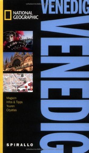 9783829732451: NATIONAL GEOGRAPHIC Spirallo Reiseführer Venedig: Magazin. Infos & Tipps. Touren