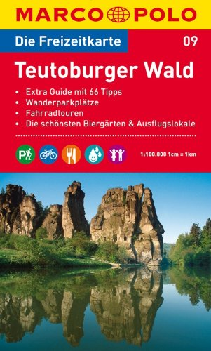 9783829736084: MARCO POLO Freizeitkarte 09 Teutoburger Wald 1 : 100 000