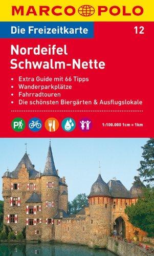 9783829736114: MARCO POLO Freizeitkarte 12 Nordeifel / Schwalm-Nette 1 : 100 000