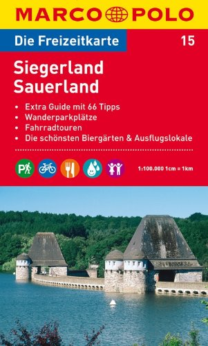 9783829736145: MARCO POLO Freizeitkarte 15 Siegerland / Sauerland 1 : 100 000