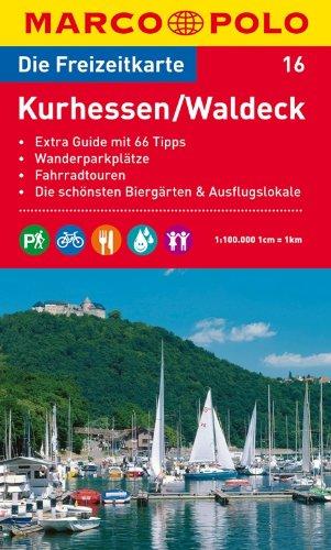9783829736152: MARCO POLO Freizeitkarte 16 Kurhessen / Waldeck 1 : 100 000