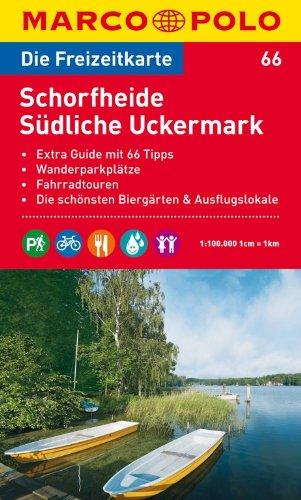 9783829736510: Marco Polo FZK66 Schorfheide - Uckermark Zuid: Toeristische kaart 1:100 000