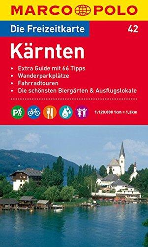 9783829736558: MARCO POLO Freizeitkarte 42 Kärnten 1 : 120 000