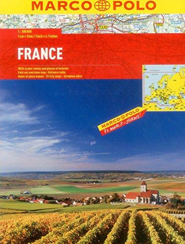 France Marco Polo Atlas (Marco Polo Atlases): Marco Polo