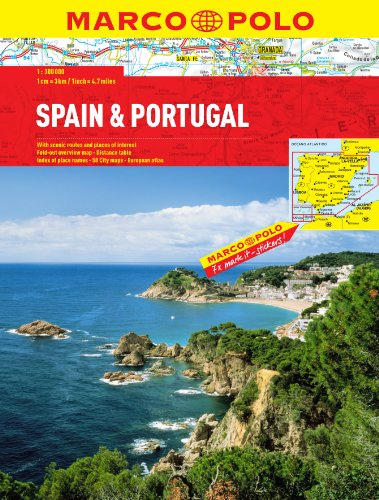9783829737449: Spain/Portugal Atlas (Marco Polo Atlases)
