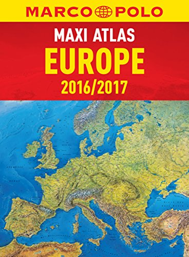 9783829737456: Europe Marco Polo Maxi Atlas (Marco Polo Road Atlas)