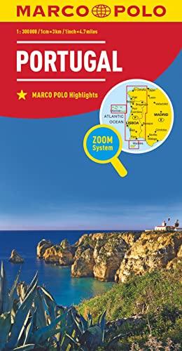 9783829738392: MARCO POLO Länderkarte Portugal 1:300 000