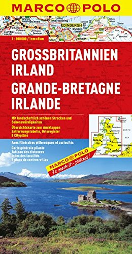 9783829738606: Grande-Bretagne, Irlande : 1/800 000