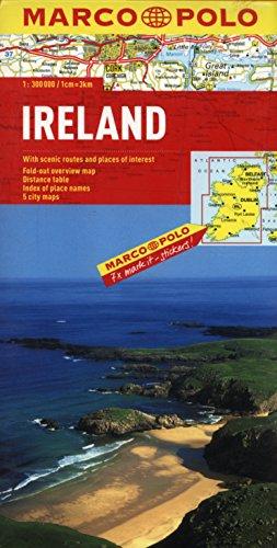 9783829738613: irlande , euro carte marco polo