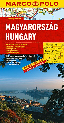 9783829738781: Hongrie : 1/300 000 (Marco Polo Atlases (Multilingual))