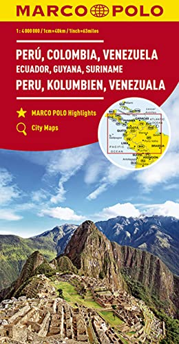 9783829739368: Pérou, Colombie, Vénézuela, Equateur, Guyane, Suriname