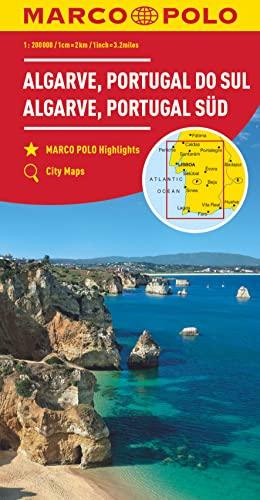 9783829739900: MARCO POLO Karte Algarve, Portugal Süd 1:200 000
