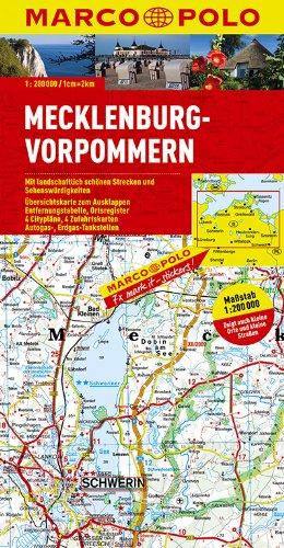 9783829740029: MARCO POLO Deutschland 02. Mecklenburg-Vorpommern 1 : 200 000