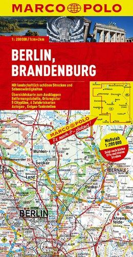 9783829740043: MARCO POLO Deutschland 04. Berlin, Brandenburg 1 : 200 000