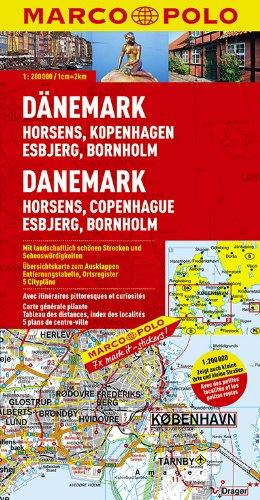 9783829740371: Daenemark 2 Horsens Kopenhavn Esbjerg (1:200.000) Marco Polo