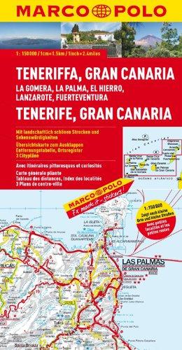 9783829740609: MARCO POLO Teneriffa, Gran Canaria 1 : 150 000 Regionalkarte: La Gomera, La Palma, El Hierro, Lanzarote, Fuerteventura
