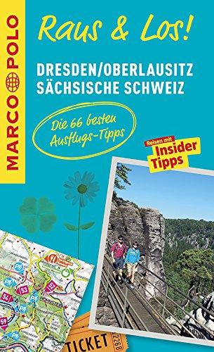 9783829741088: MARCO POLO Raus & Los! Dresden, Oberlausitz, Sächsische Schweiz: Guide und große Erlebnis-Karte in praktischer Schutzhülle
