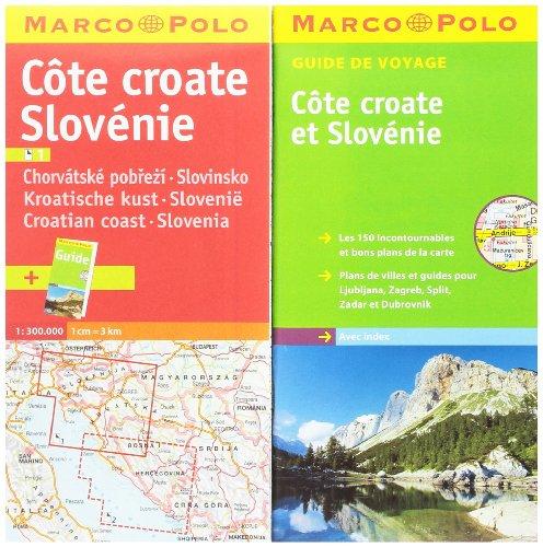 9783829763356: Côte croate Slovénie : 1/300 000