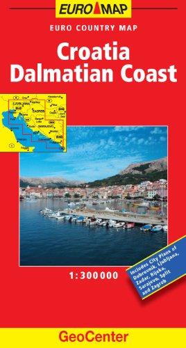 9783829765343: Croatia and Dalmatian Coast GeoCenter Map (GeoCenter Euro Maps)
