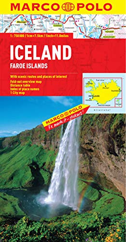 9783829767231: Iceland Marco Polo Map (Marco Polo Maps)