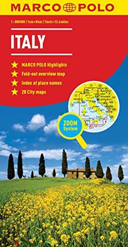 9783829767255: Italy Marco Polo Map (Marco Polo Maps)