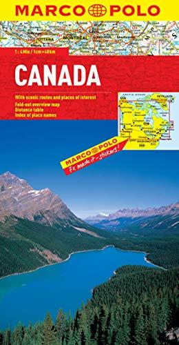 9783829767347: Canada Marco Polo Map (Marco Polo Maps)