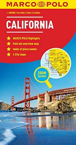 9783829767408: California Marco Polo Map (Marco Polo Maps)