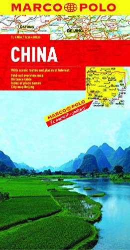 9783829767439: China Marco Polo Map (Marco Polo Maps)