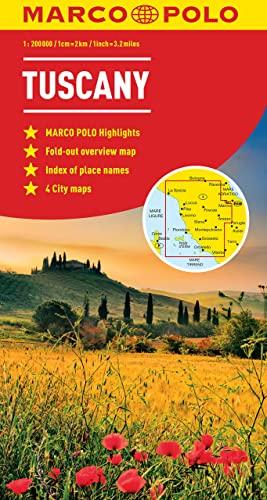 9783829767484: Tuscany Marco Polo Map (Marco Polo Maps)