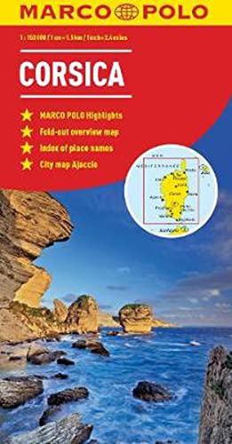 9783829767668: Corsica Marco Polo Map (Marco Polo Maps)