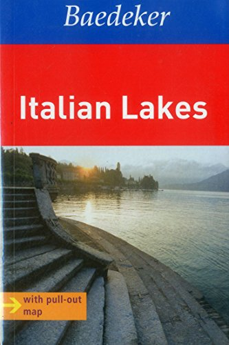 9783829768009: Italian Lakes Baedeker Travel Guide (Baedeker Guides)