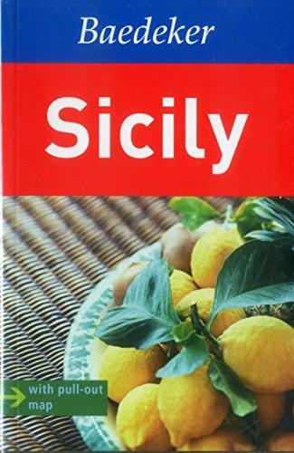 Sicily Baedeker Guide (Baedeker Guides): Various Map Artist