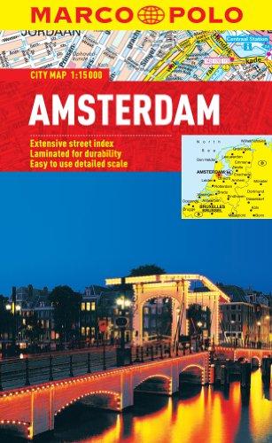 9783829769501: Amsterdam Marco Polo City Map (Marco Polo City Maps)
