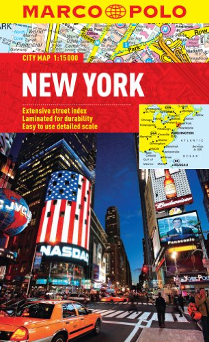 9783829769563: New York Marco Polo City Map (Marco Polo City Maps)